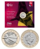 Royal Mint presentation pack from the Royal Air Force Centenary 2018 Collection: Features A Powerful