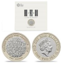 Royal Mint Armistice 2018 A Time To Reflect Big Ben presentation pack featuring brilliant,