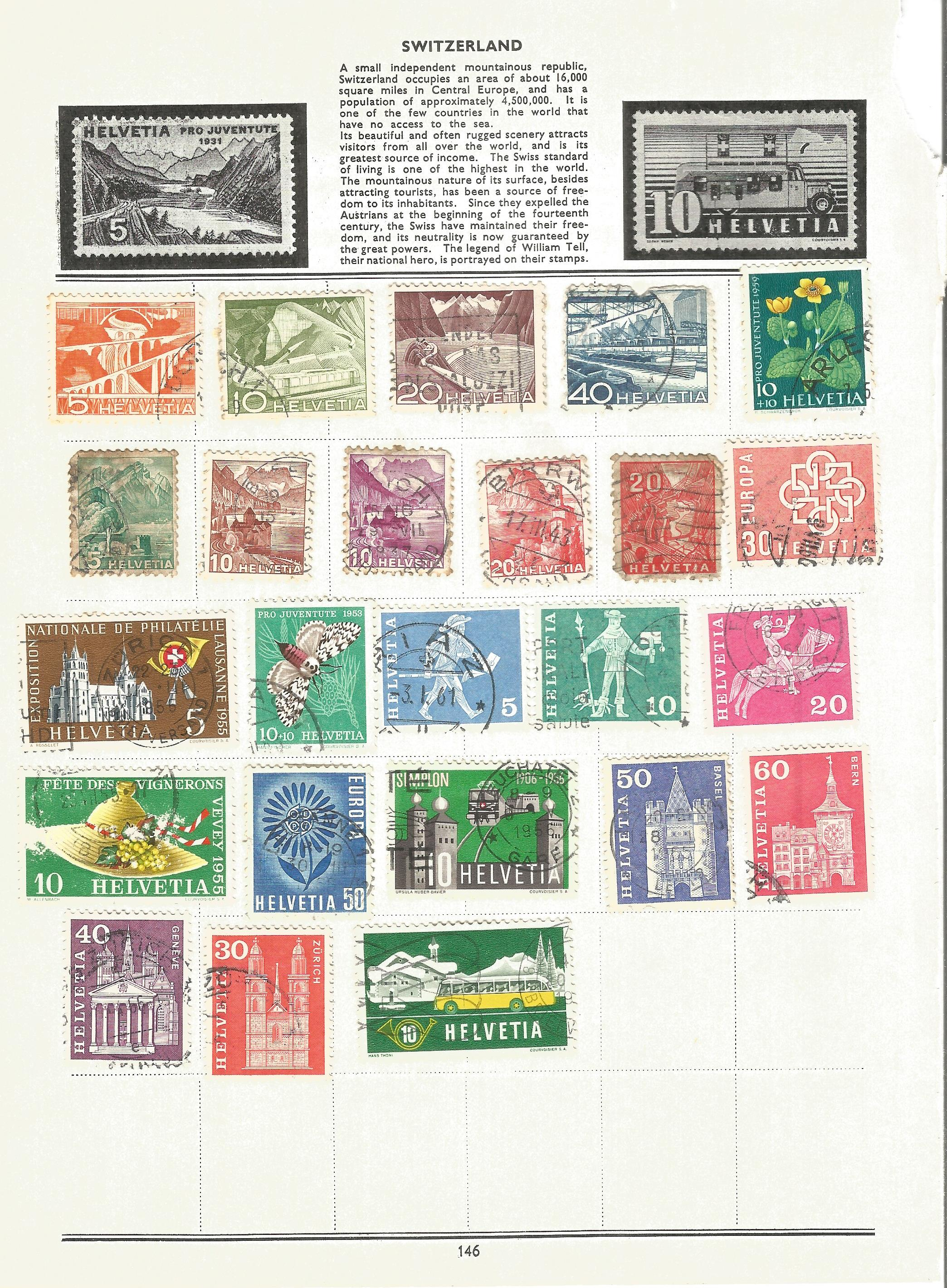 Foreign stamp collection on 16 loose album pages. Includes Italy, Netherlands, Norway, Portugal - Image 3 of 4