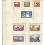 Swiss stamp collection. Childrens fund, projuventive charity stamps 1924-1931. 32 stamps. Good