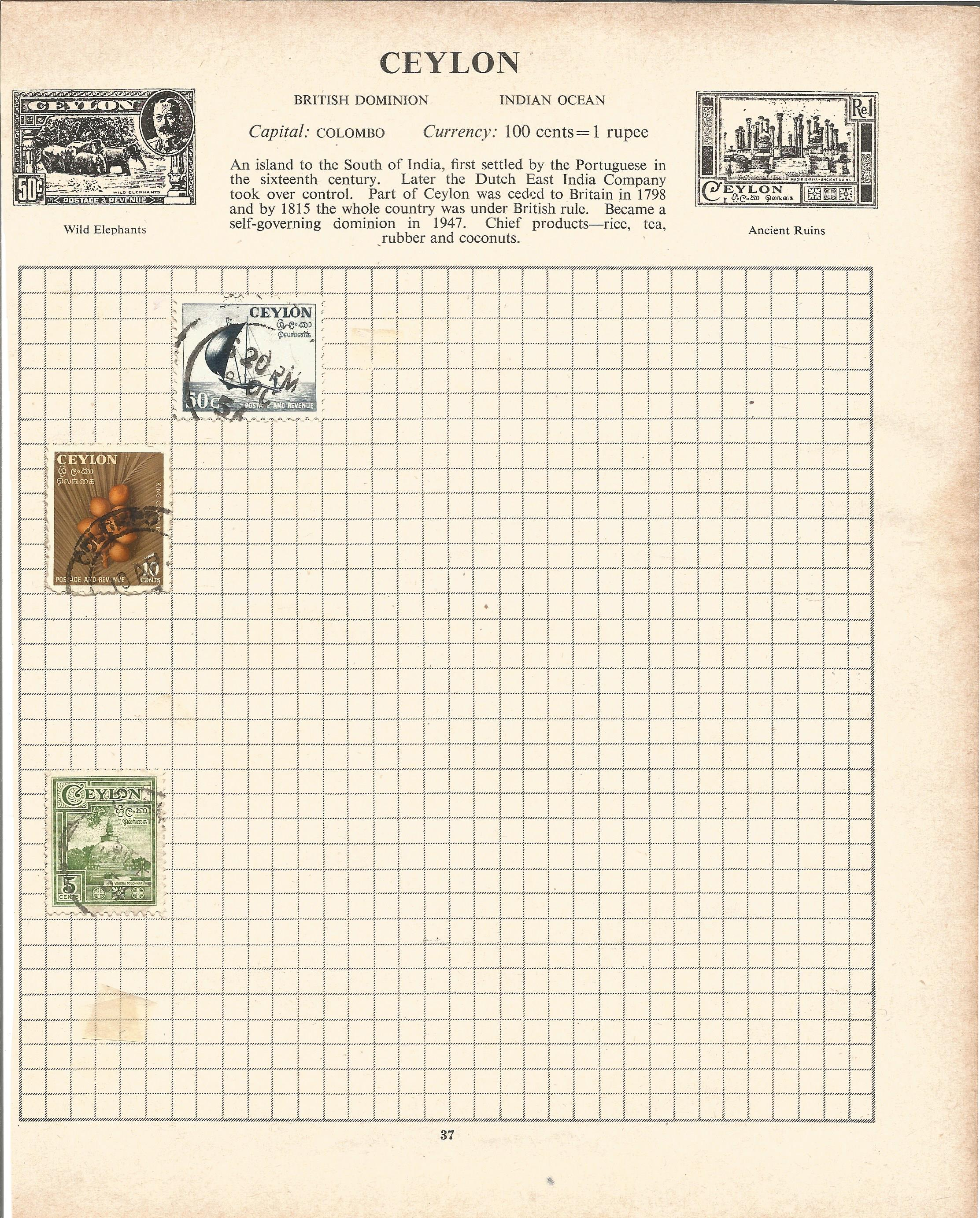 Assorted stamp collection. Includes Argentina, Chile, USA, Hungary, Poland, Romania and Russia on 20 - Image 3 of 5