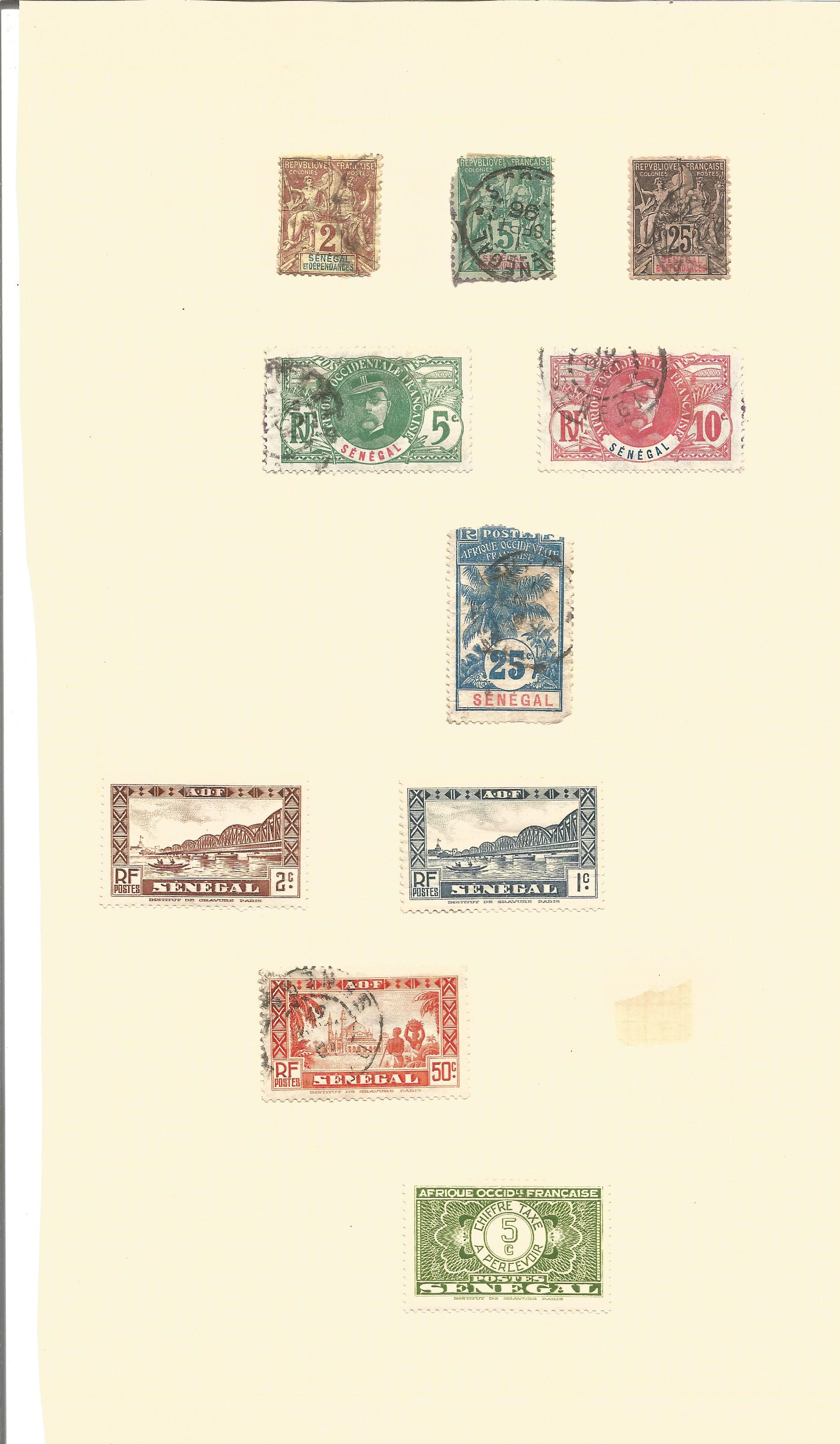 Assorted stamp collection on 7 loose album pages. Includes stamps from Somalia occidental, - Image 3 of 4