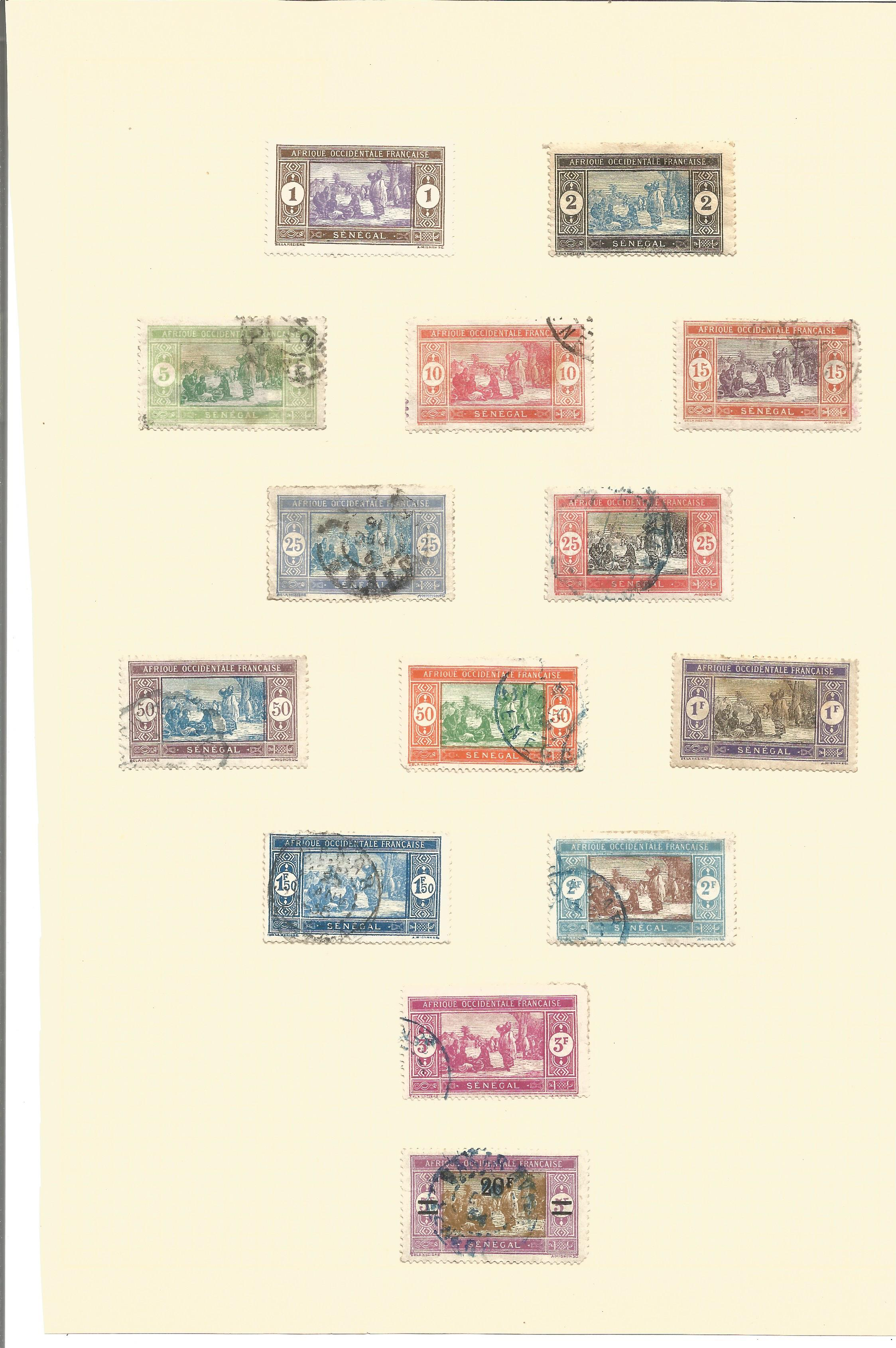 Assorted stamp collection on 7 loose album pages. Includes stamps from Somalia occidental, - Image 2 of 4