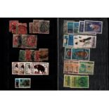 Small A5 stockbook containing collection of stamps from Northern Rhodesia, Southern Rhodesia. Good