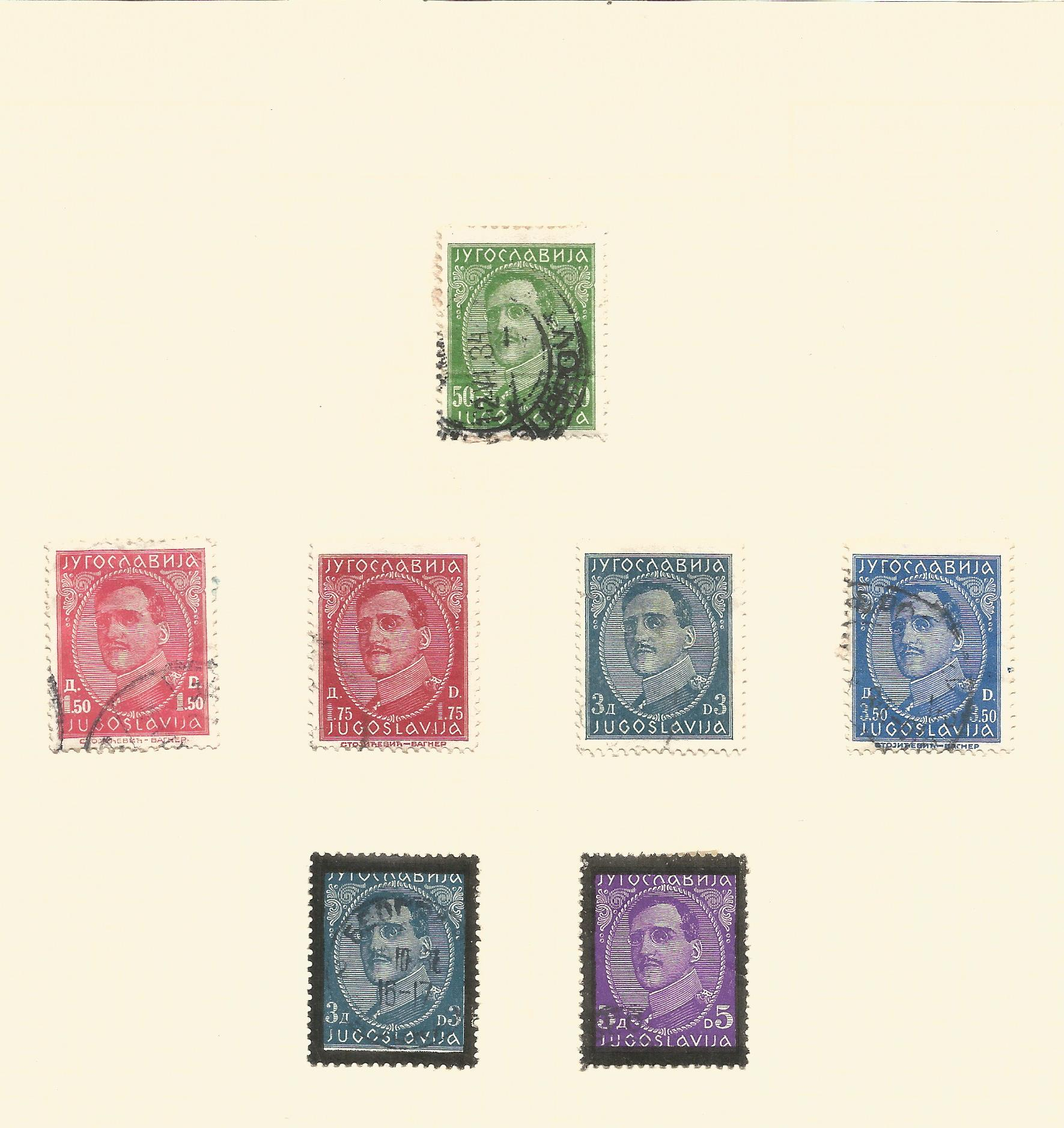 Yugoslavia, Latvia and Lebanon stamp collection on 8 loose pages. Good condition. We combine postage - Image 2 of 2