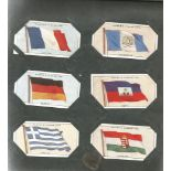 Assorted cigarette card collection. Includes 1916 past and present 25 cards, 1939 life in the