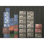 GB stamp collection on stockcard and loose. Good condition. We combine postage on multiple winning