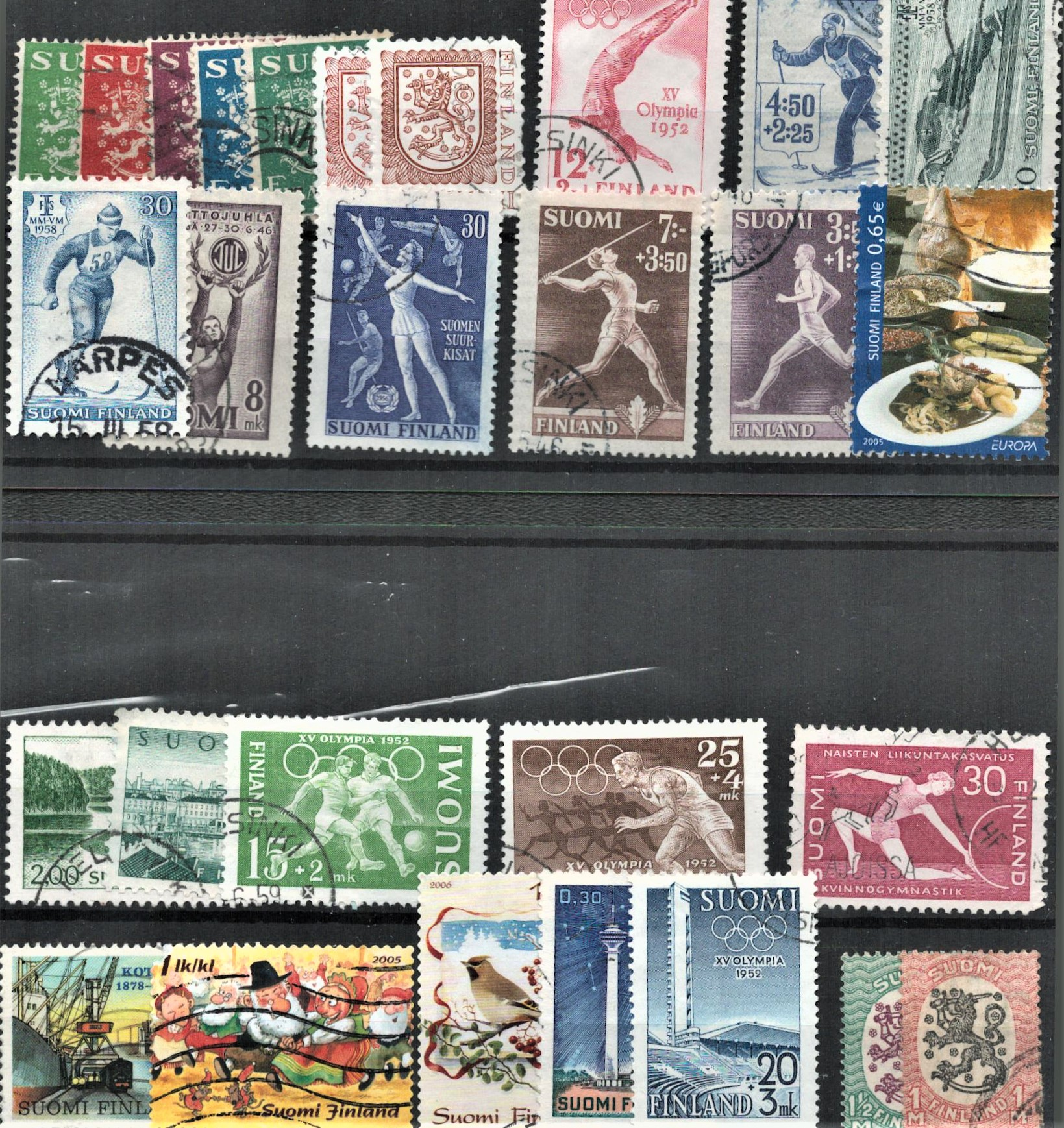 Finland stamps on 3 stockcards. Good condition. We combine postage on multiple winning lots and