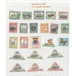 France and Portuguese colonies stamps on 6 pages. Good condition. We combine postage on multiple