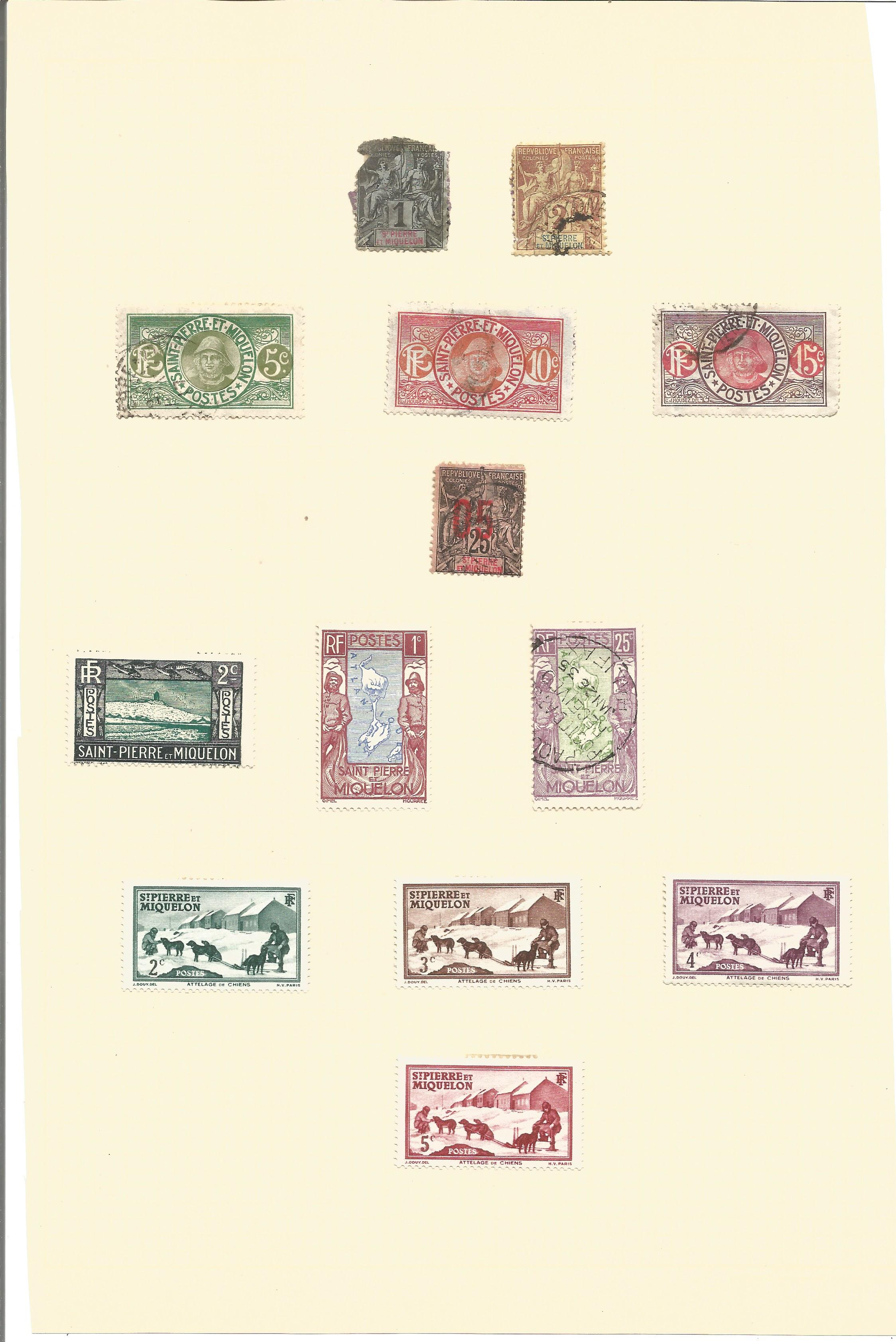Assorted stamp collection on 7 loose album pages. Includes stamps from Somalia occidental, - Image 4 of 4