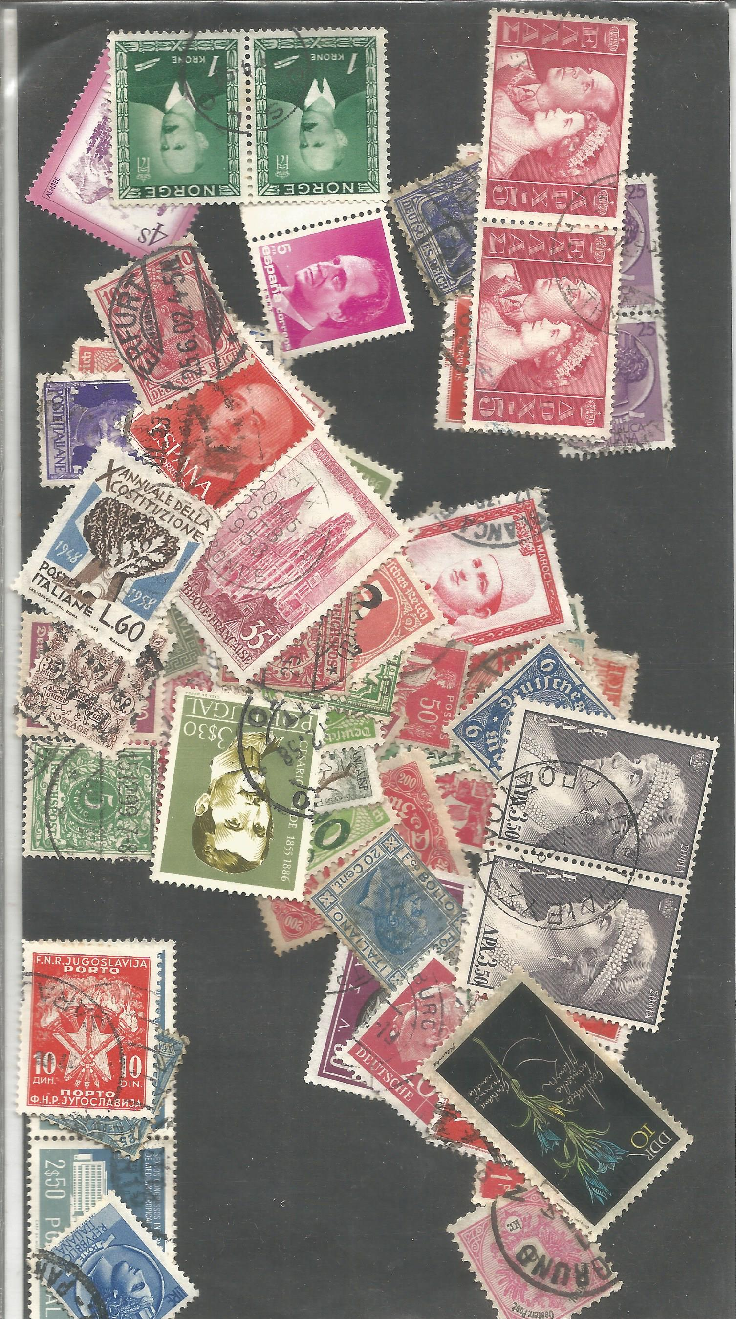 World loose stamp collection. Good condition. We combine postage on multiple winning lots and can - Image 2 of 2