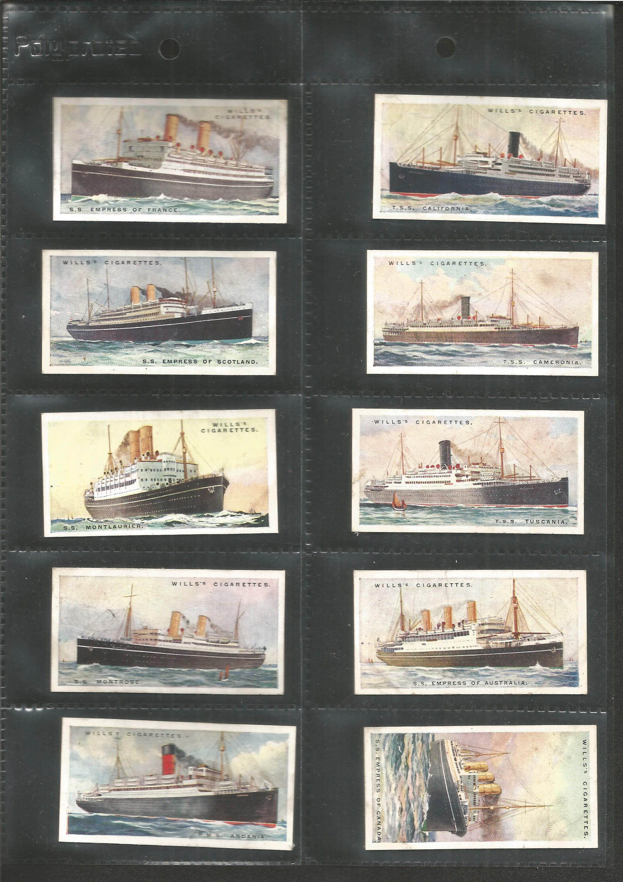 Cigarette card collection. 3 complete sets. Includes 1925 Flower culture in pots 50 cards, 1924 - Image 6 of 6