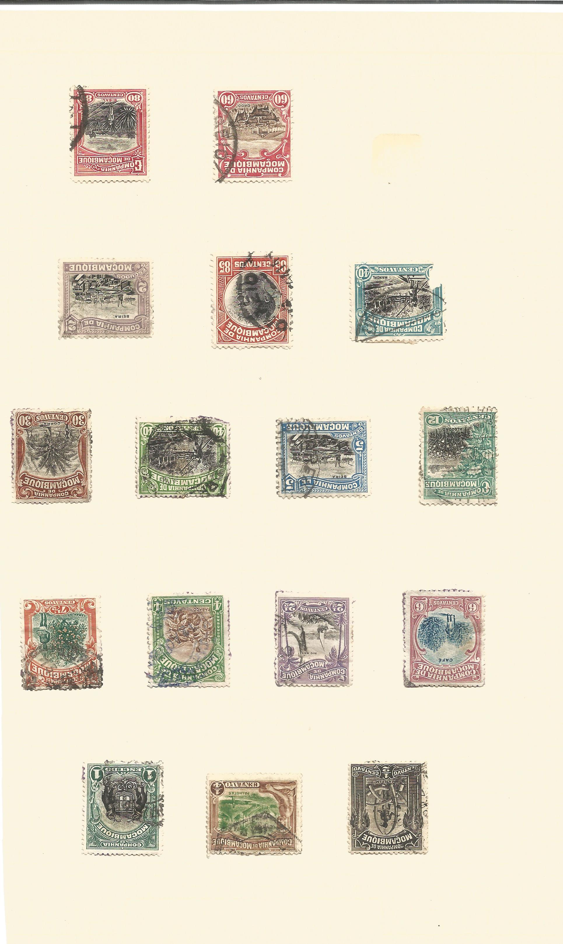 Mozambique stamp collection on 7 loose pages. Good condition. We combine postage on multiple winning - Image 2 of 5