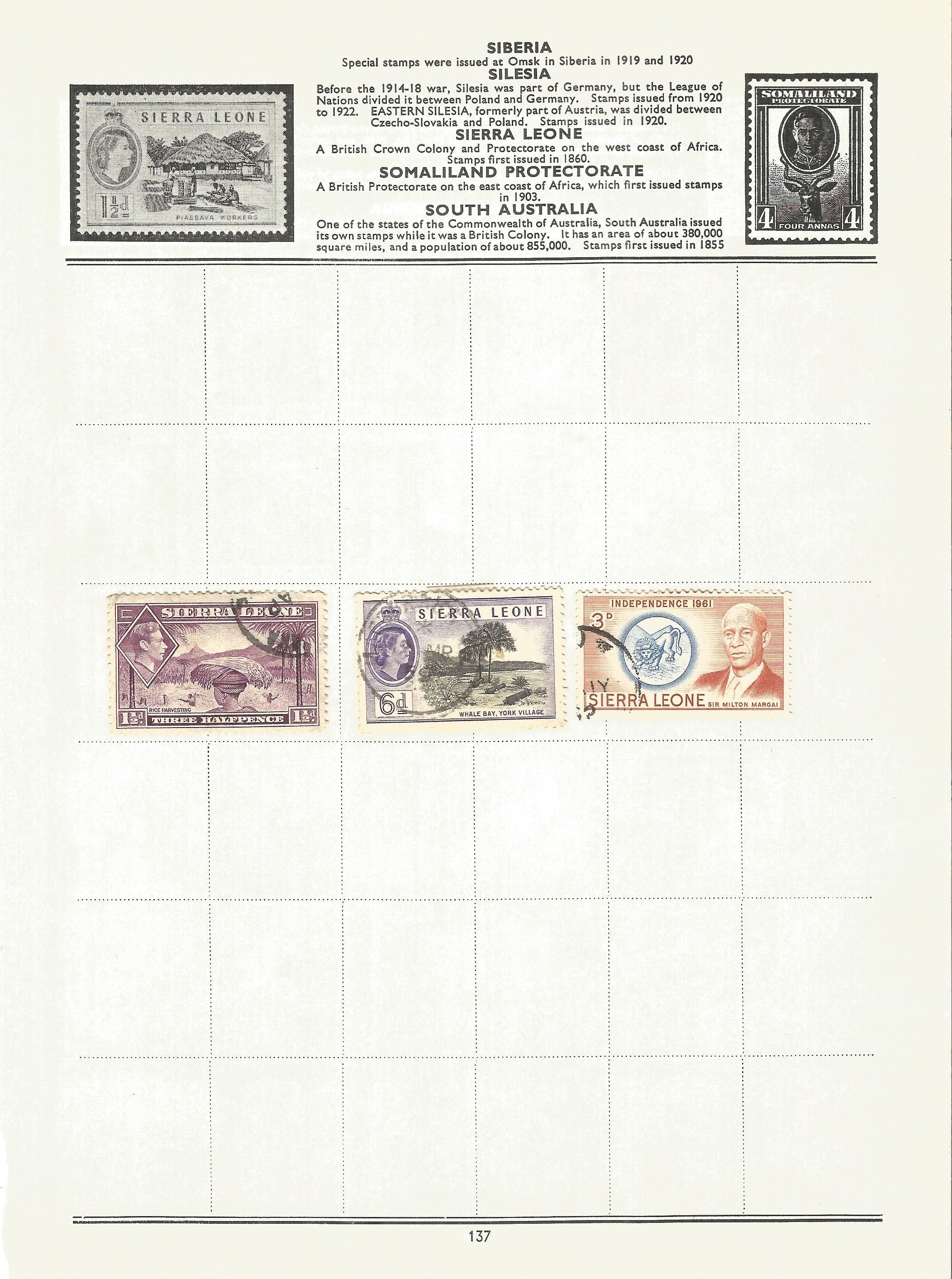 BCW stamp collection on 17 loose pages. Includes stamps from British Virgin Islands, Zanzibar, South - Image 2 of 5