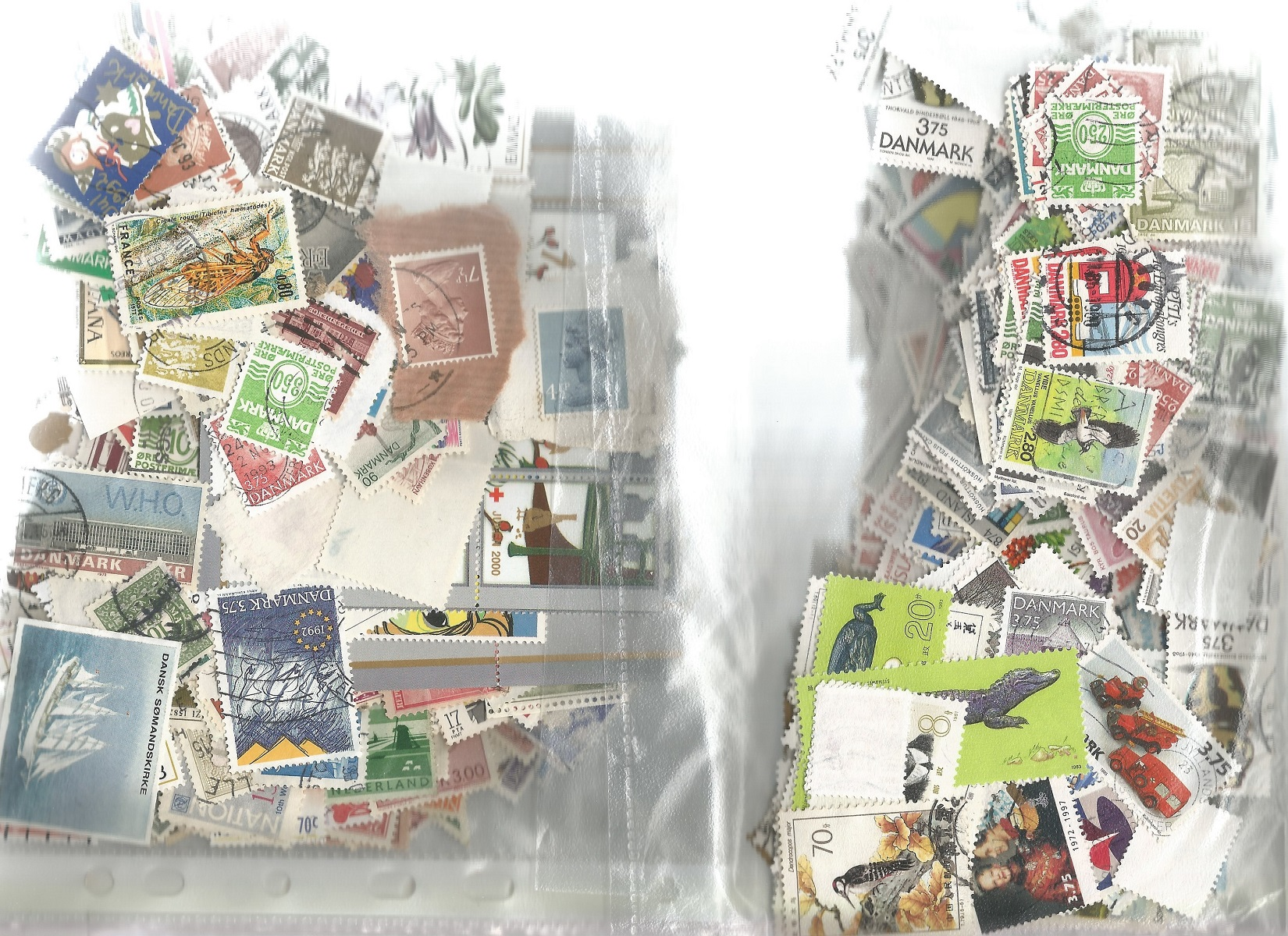 Assorted overseas stamp collection on and off backing paper. Good condition. We combine postage on