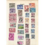 BCW stamp collection on 27 loose pages. Includes Trinidad and Tobago, Malaya, Jamaica, Gibraltar and