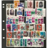 Russian stamp collection. Includes stockcard, 1964 all unmounted mint. Selection of imp and perf.