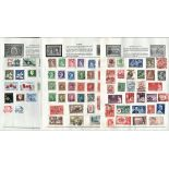 BCW stamp collection on 6 loose pages. Includes Australia and Canada. Good condition. We combine
