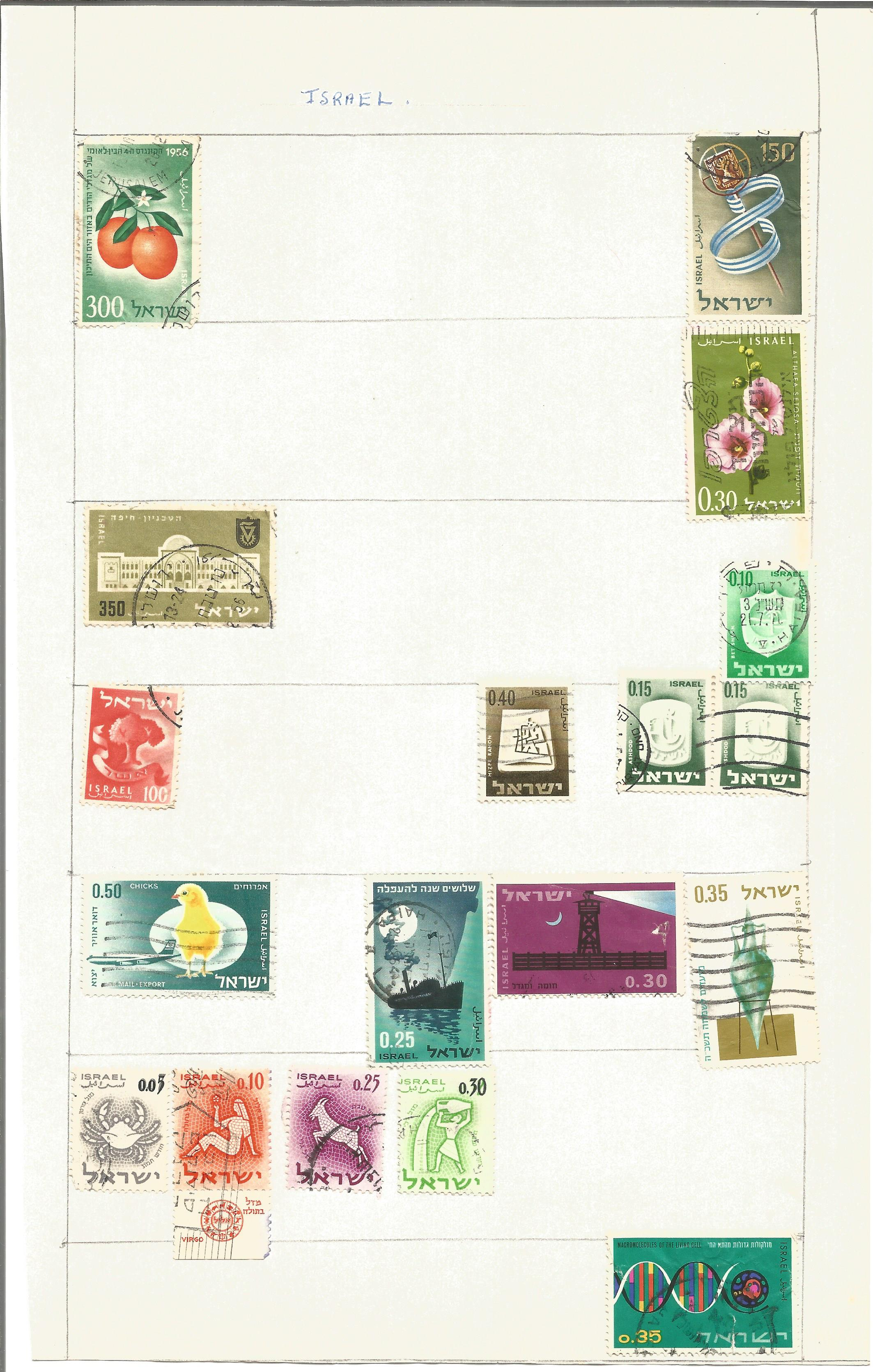 World stamp collection on 14 pages. Good condition. We combine postage on multiple winning lots - Image 2 of 4