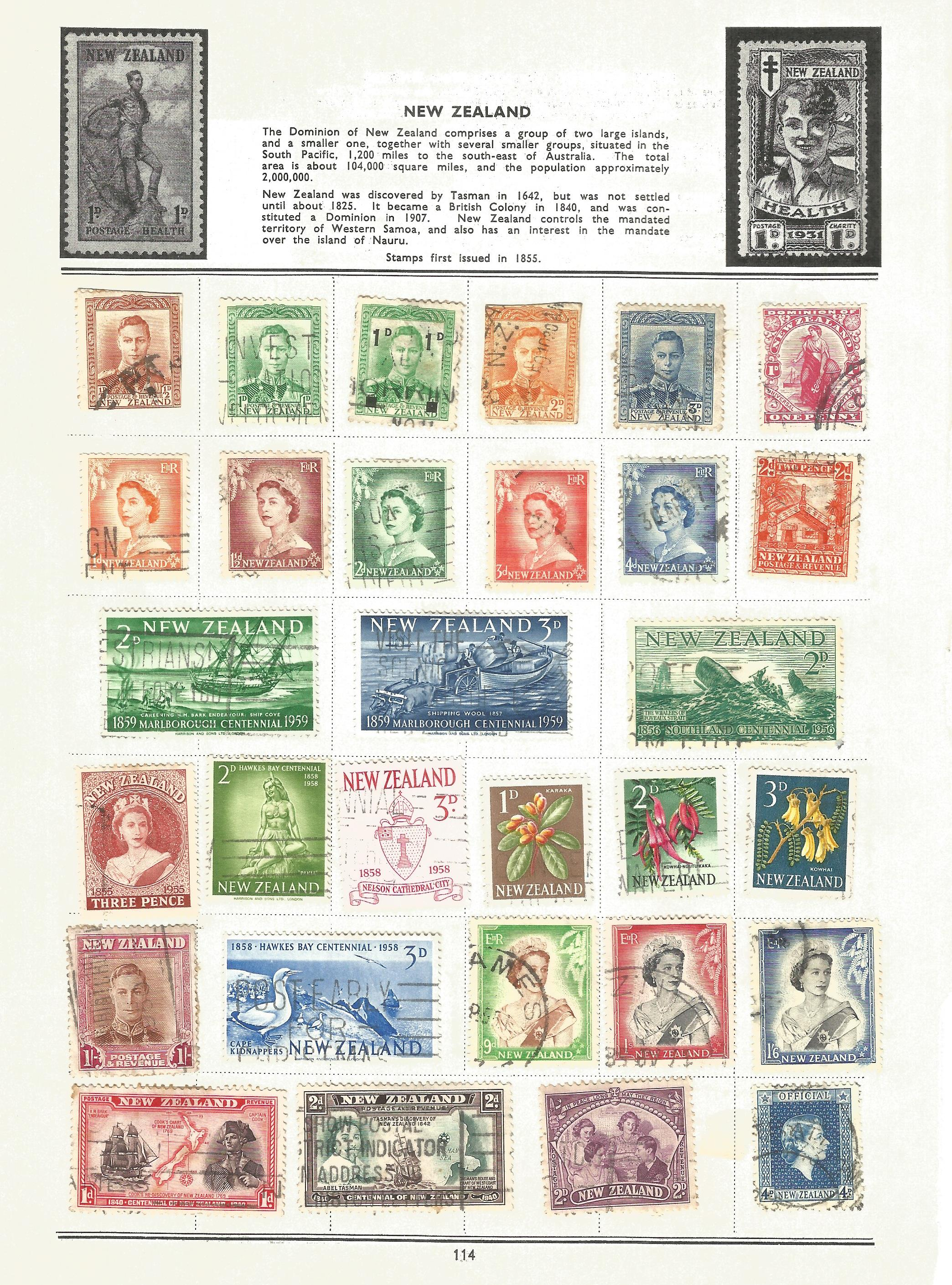 BCW stamp collection on 17 loose pages. Includes stamps from British Virgin Islands, Zanzibar, South - Image 3 of 5