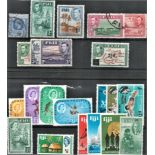 Fiji stamps on 2 stockcards. Good condition. We combine postage on multiple winning lots and can