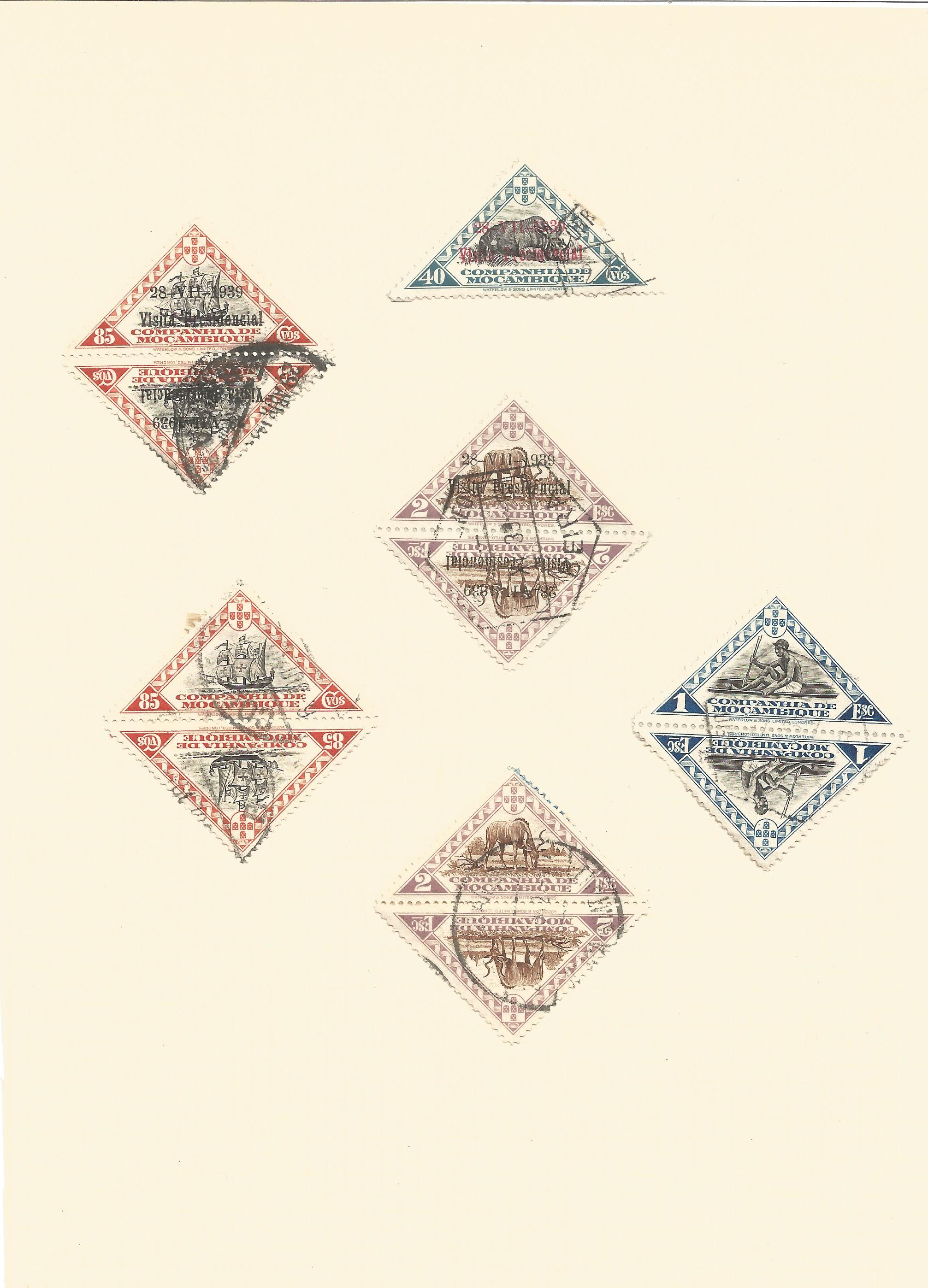 Mozambique stamp collection on 7 loose pages. Good condition. We combine postage on multiple winning - Image 5 of 5