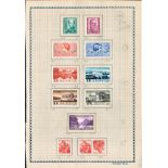 12 Swiss mint stamps 1937/1938. Good condition. We combine postage on multiple winning lots and