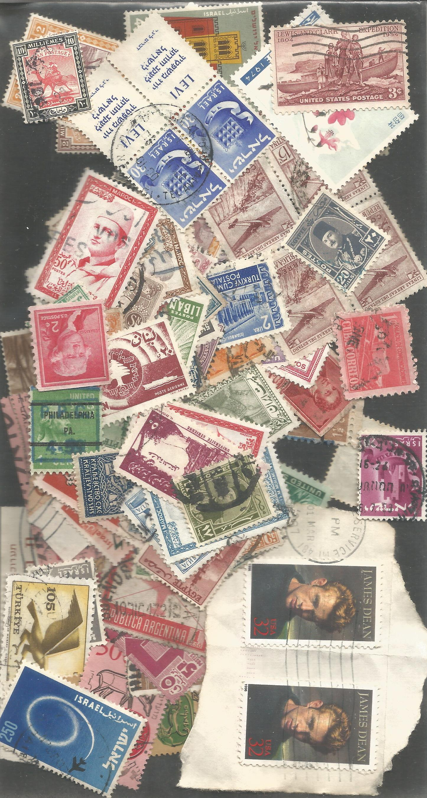 World loose stamp collection. Good condition. We combine postage on multiple winning lots and can