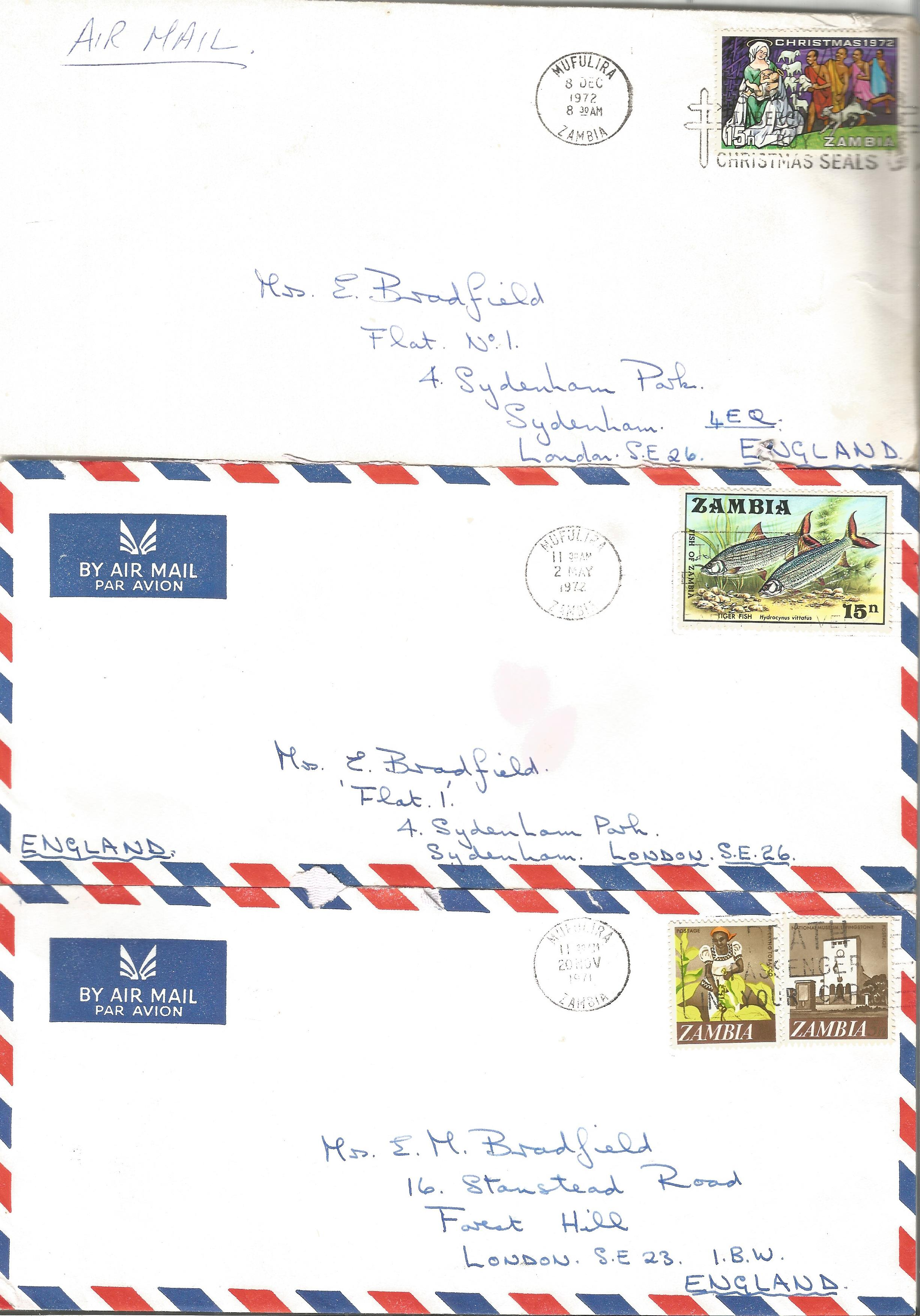 Overseas cover collection. 23 included. Australia, RSA, Canada and Zambia. Good condition. We - Image 4 of 5