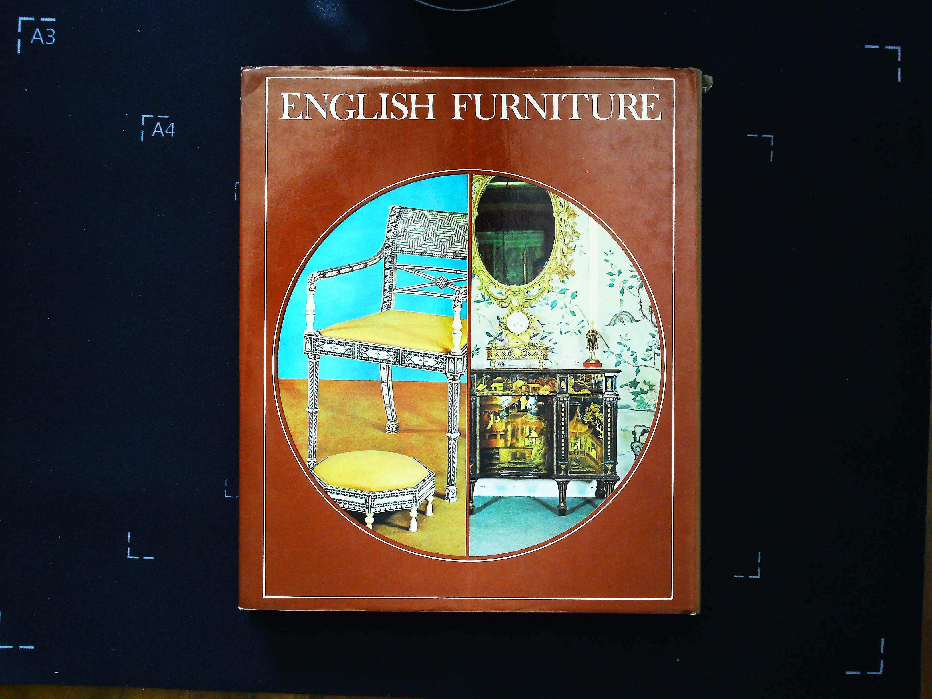 English Furniture by David Nickerson hardback book 96 pages Published 1973 Octopus Books Ltd. In - Image 2 of 3