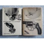 2 x Len Deighton hardback books 1- The Ipcress File Secret File No. 1 223 pages published 1962