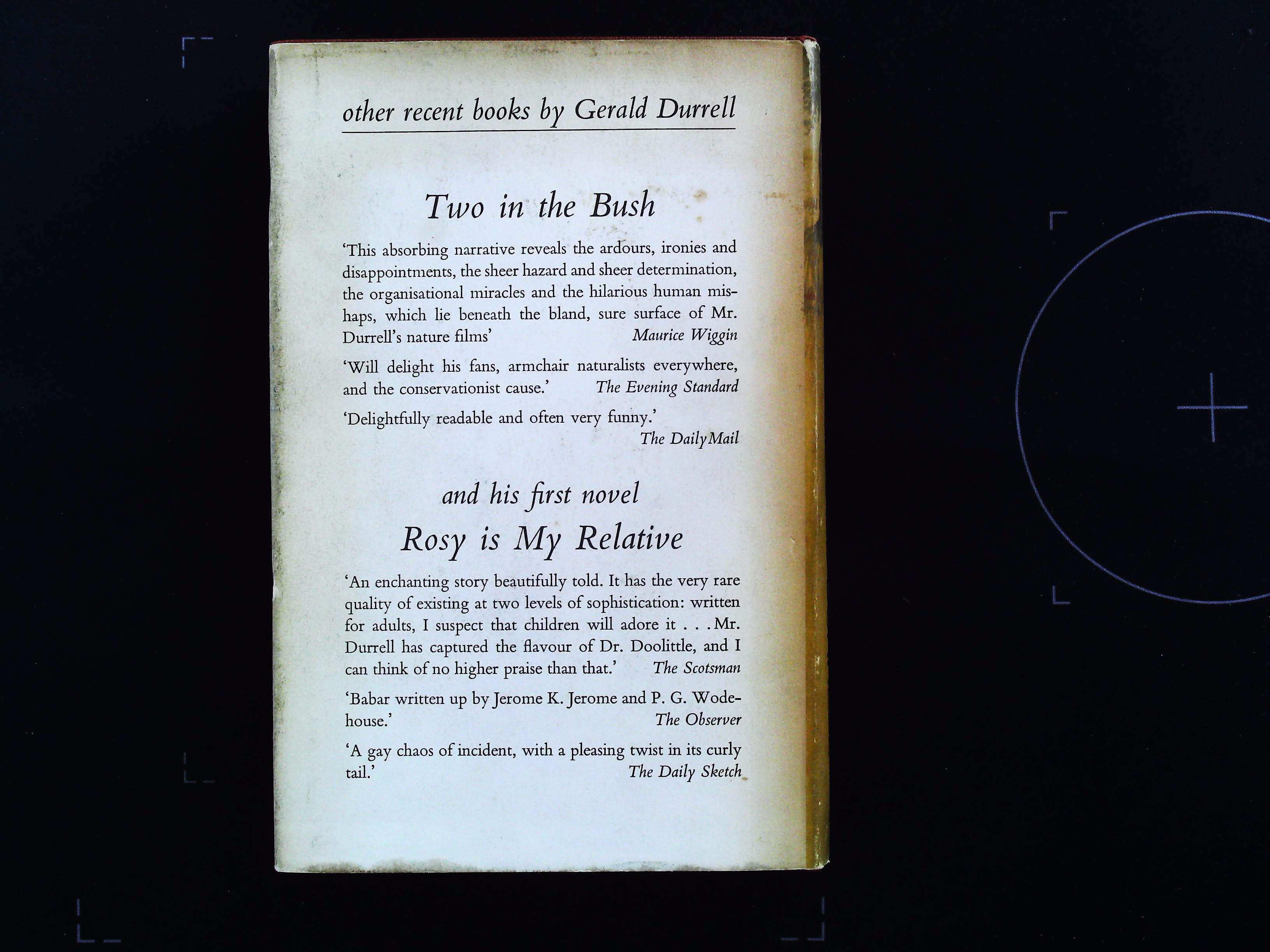 Birds, Beasts and Relatives hardback book by Gerald Durrell. Published 1969 Literary Guild. 251 - Image 2 of 3