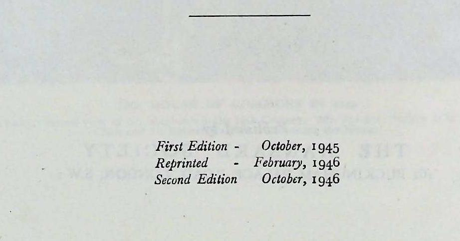 Our Parliament hardback book by Strathearn Gordon. Published 1946 Hansard Society. Previous owner - Image 4 of 4