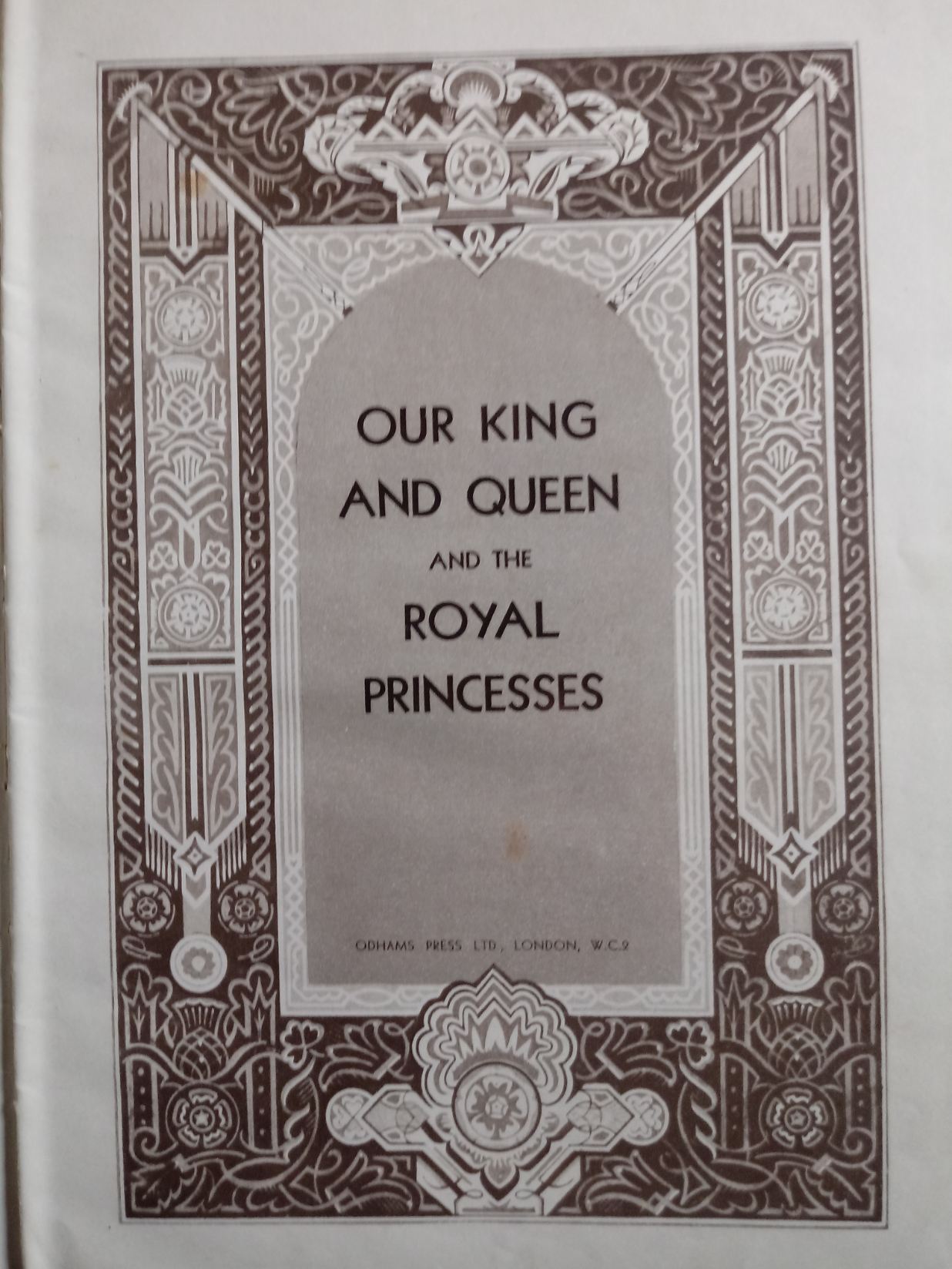 2 x hardback books published Odhams Press 1- The Coronation Of King George VI And Queen Elizabeth - Image 7 of 7