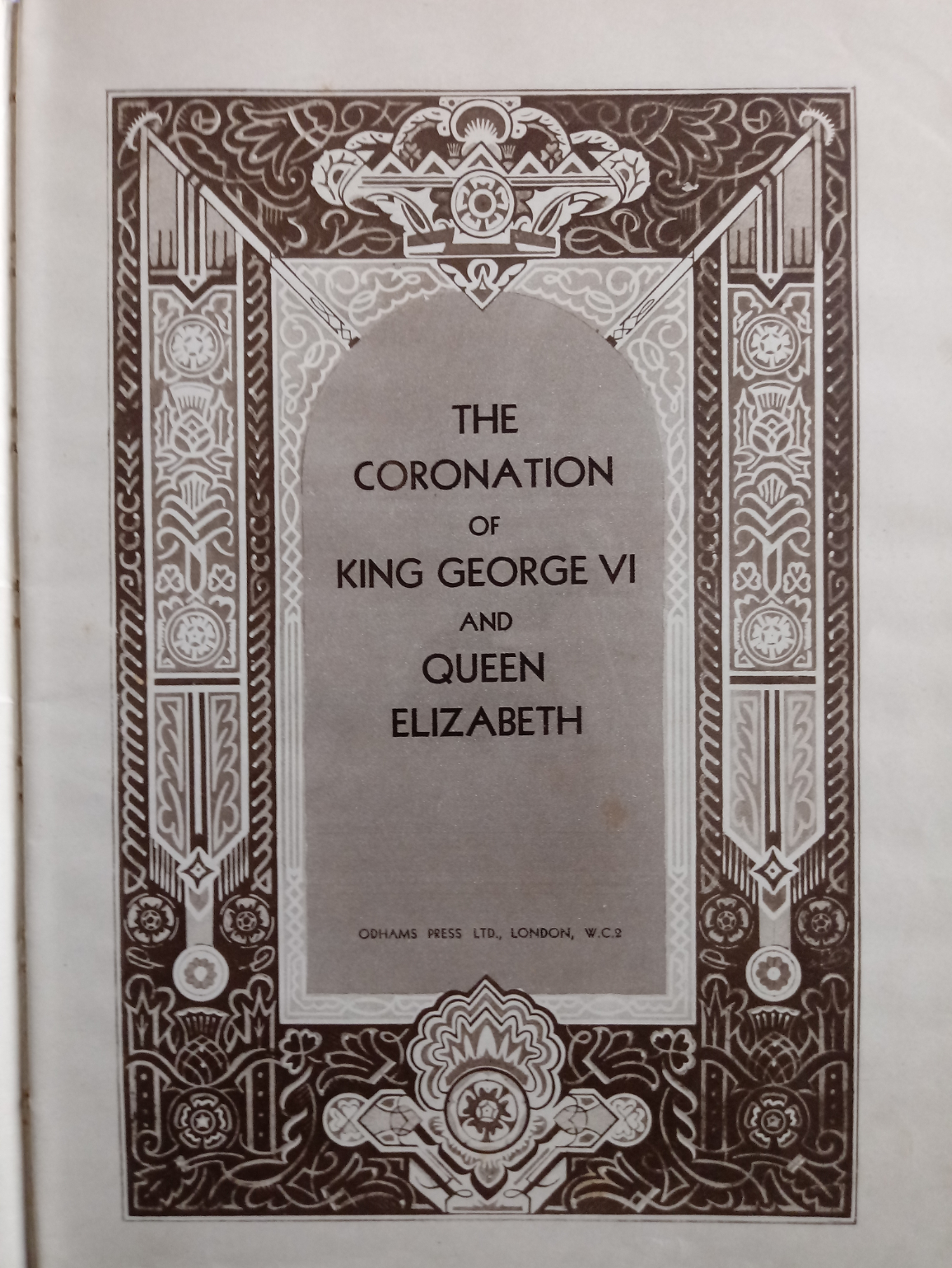 2 x hardback books published Odhams Press 1- The Coronation Of King George VI And Queen Elizabeth - Image 4 of 7