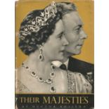 Their Majesties by Hector Bolitho. Unsigned hardback book with dust jacked published in 1952 in