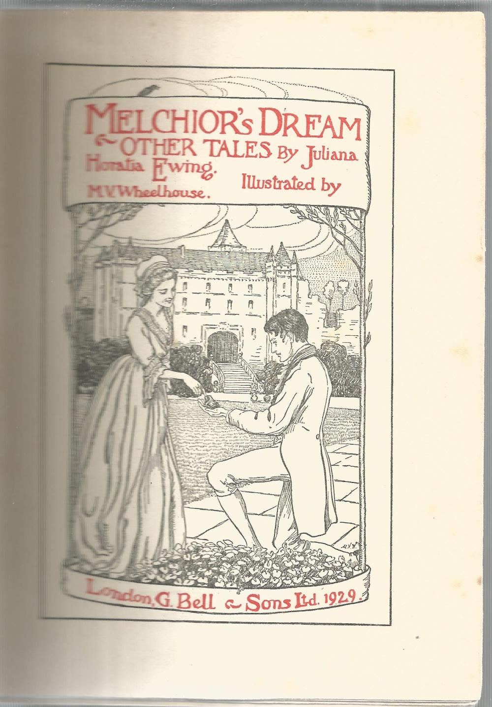 Melchior's Dream and other Tales by J H Ewing. Unsigned hardback book with no dust jacket - Image 2 of 2