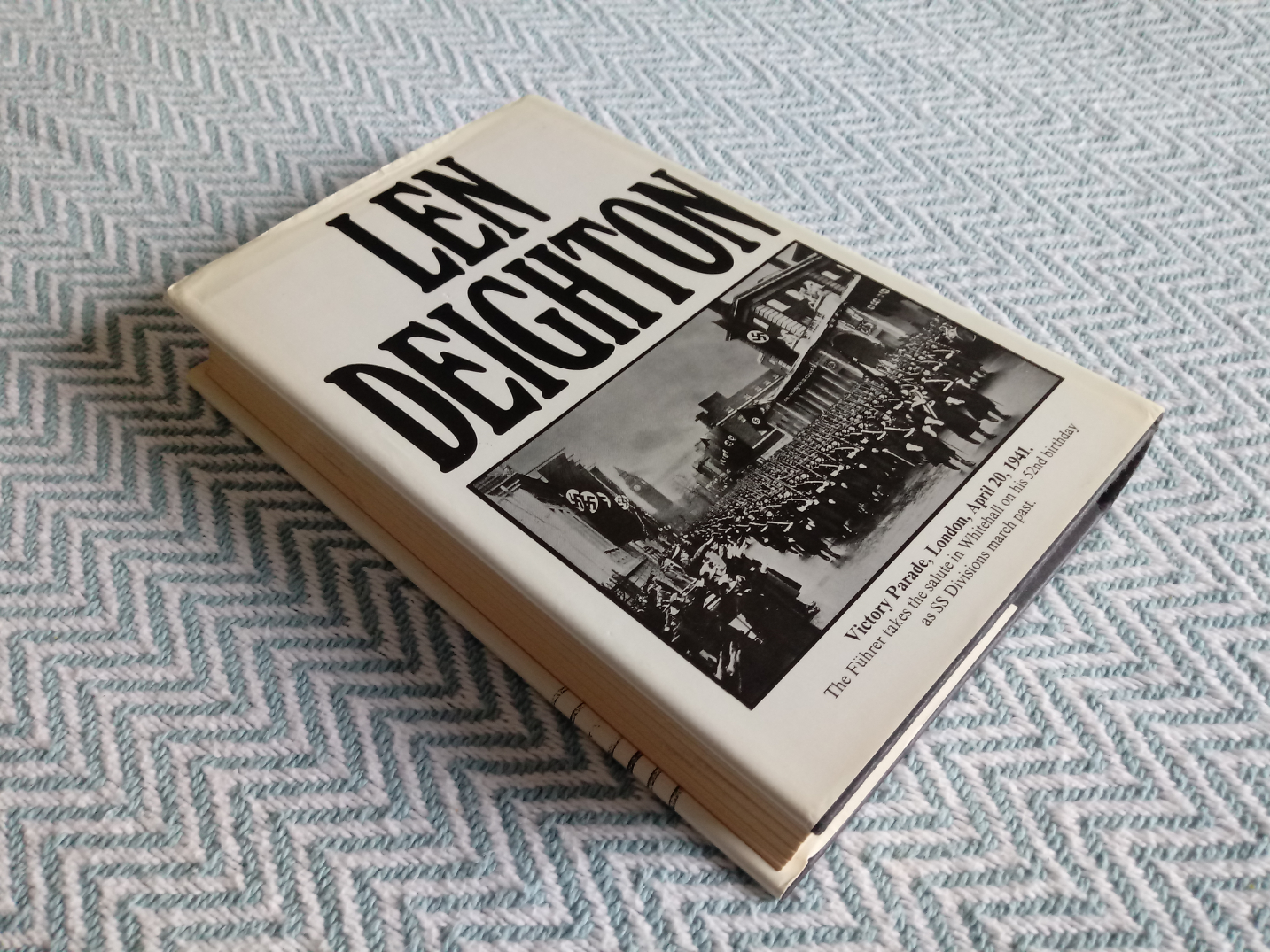 SS-GB Nazi-Occupied Britain 1941 by Len Deighton hardback book 349 pages published 1st edition - Image 2 of 3