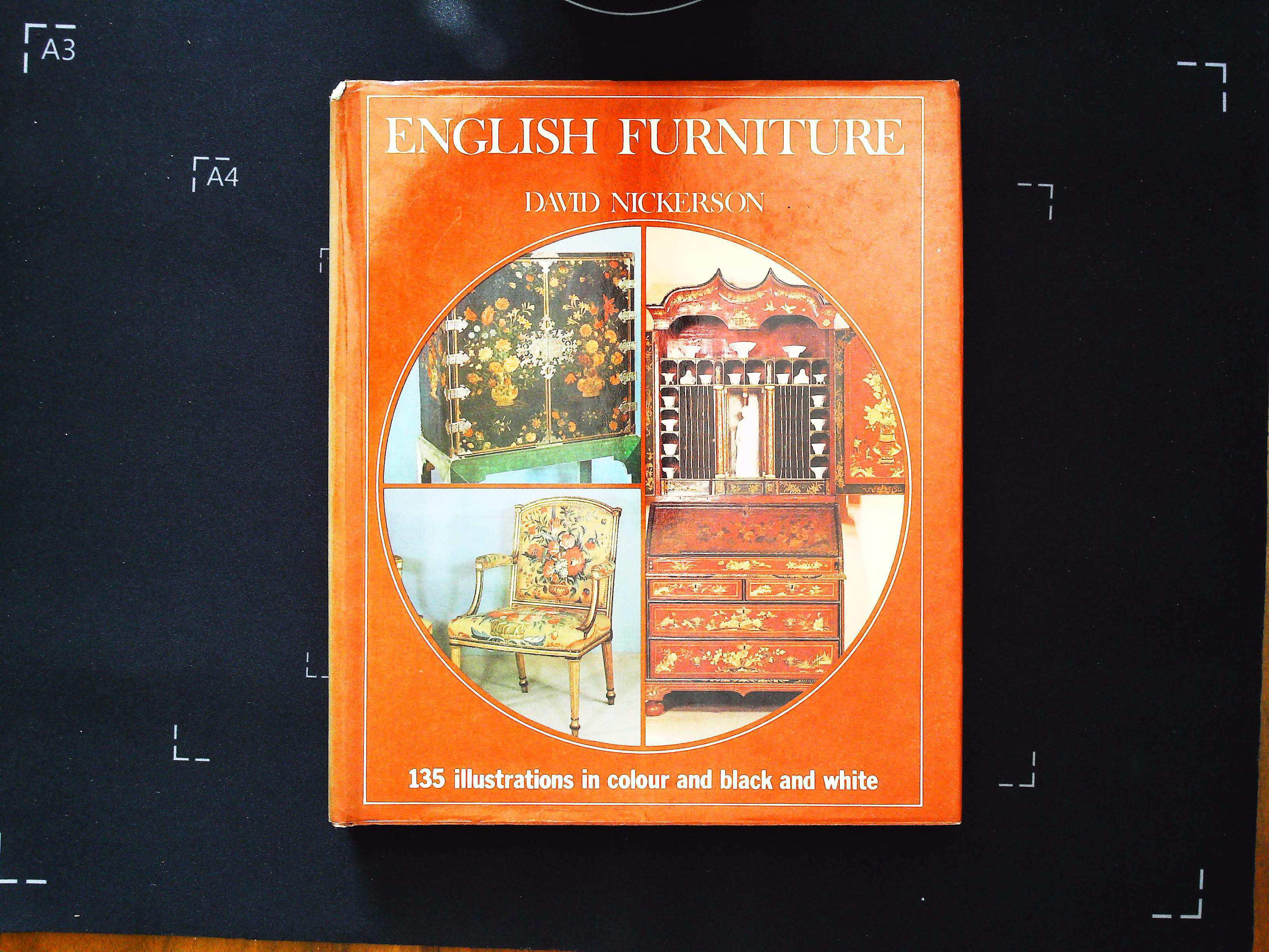 English Furniture by David Nickerson hardback book 96 pages Published 1973 Octopus Books Ltd. In