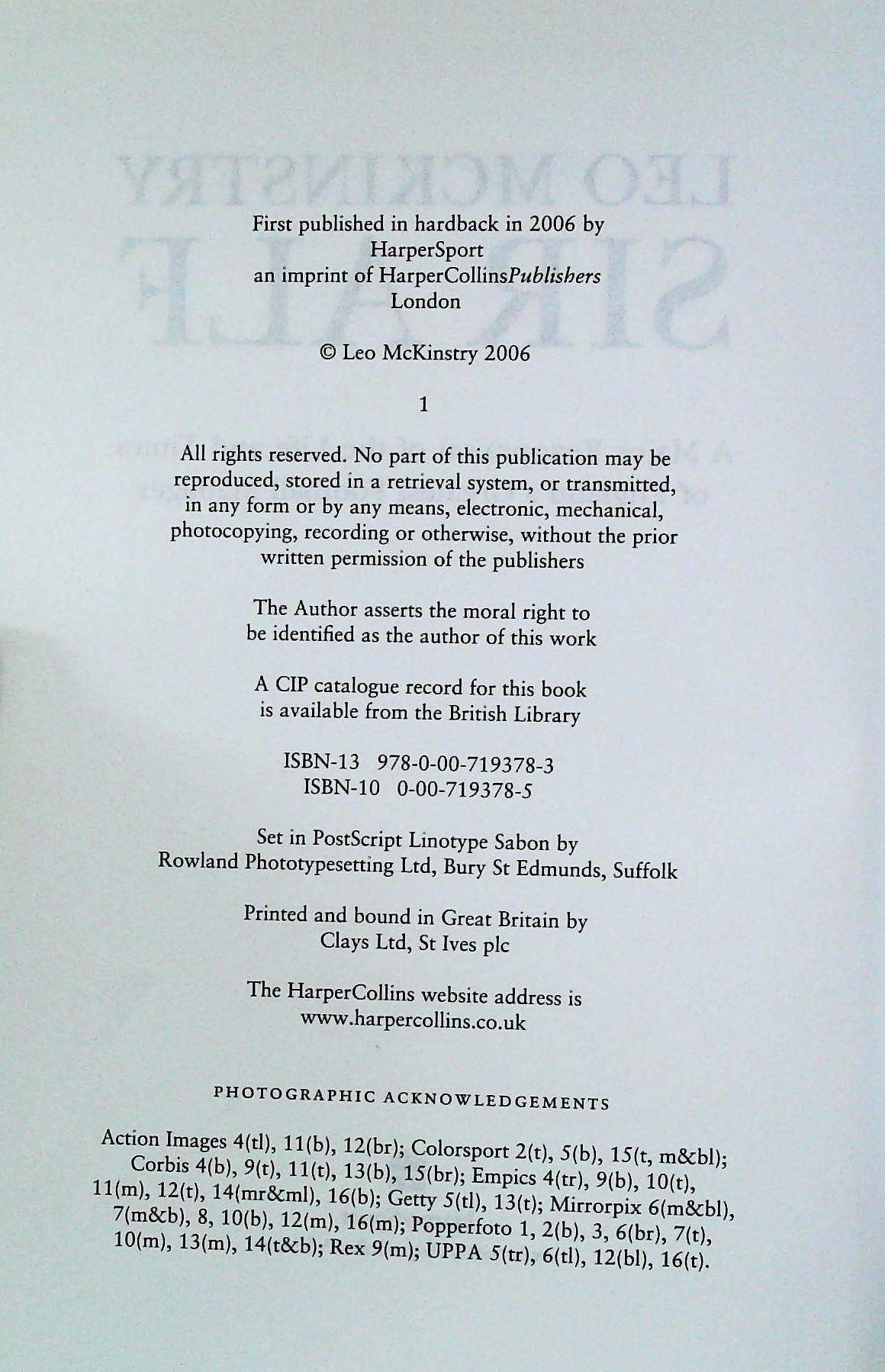 Sir Alf hardback book by Leo McKinstry. Published 2006 Harpersport. ISBN 0-00-719378-5. 528 pages. - Image 3 of 3