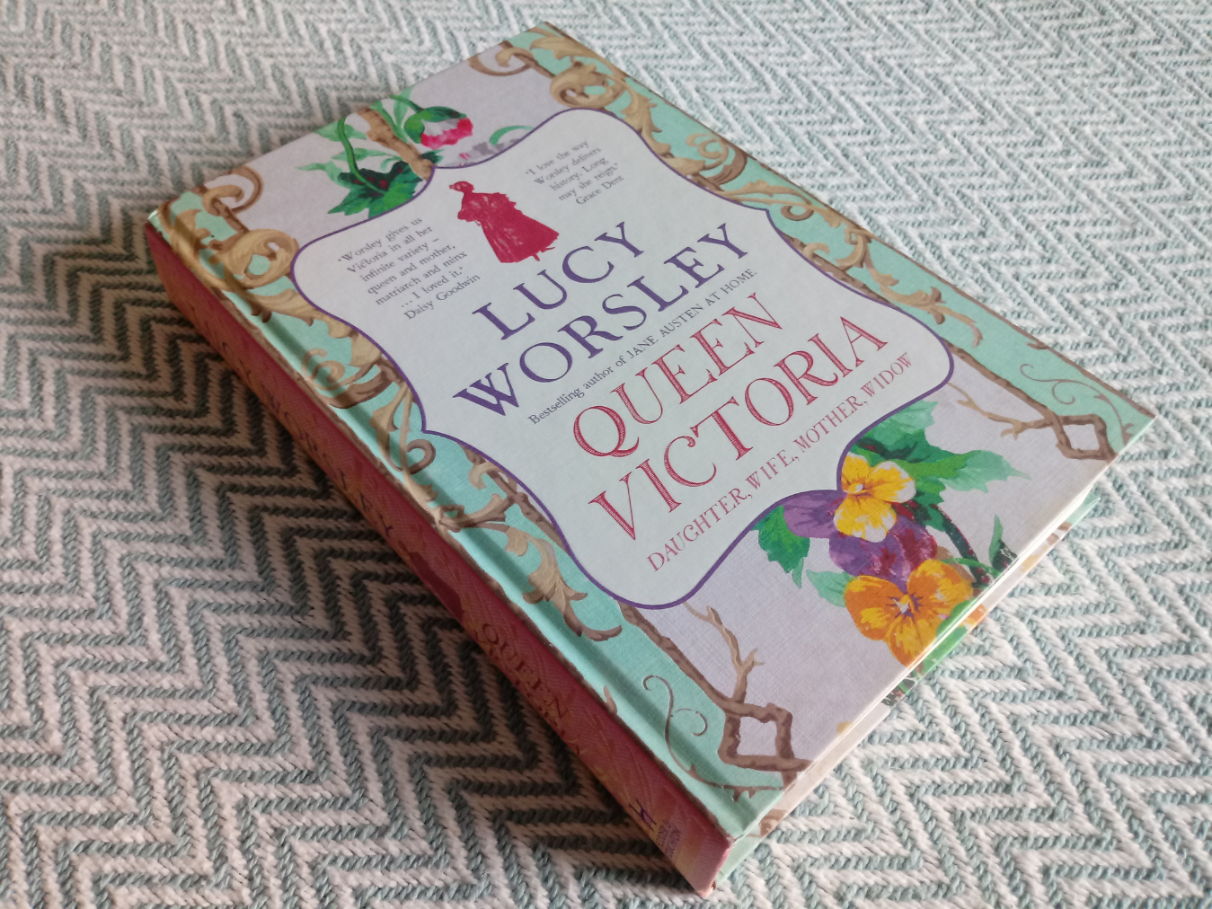 Queen Victoria Daughter, Wife, Mother, Widow by Lucy Worsley hardback book signed by author 421