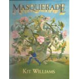 Masquerade by Kit Williams. Unsigned unnumbered pages large hardback book with no dust jacket
