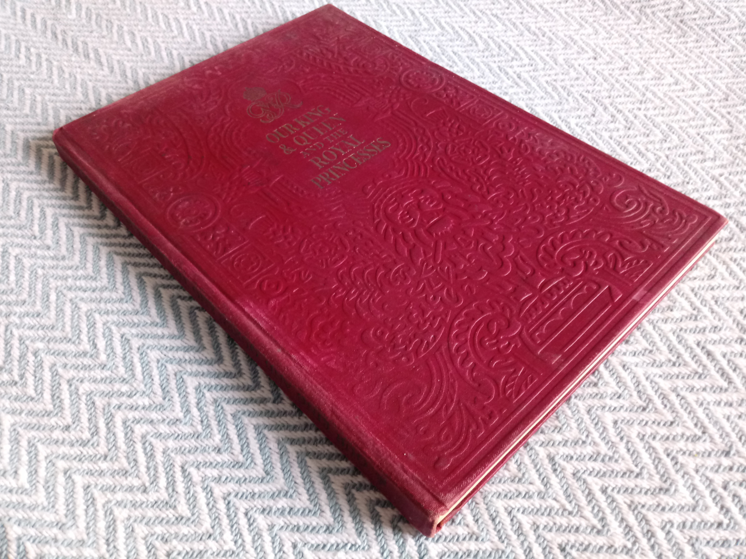2 x hardback books published Odhams Press 1- The Coronation Of King George VI And Queen Elizabeth - Image 5 of 7