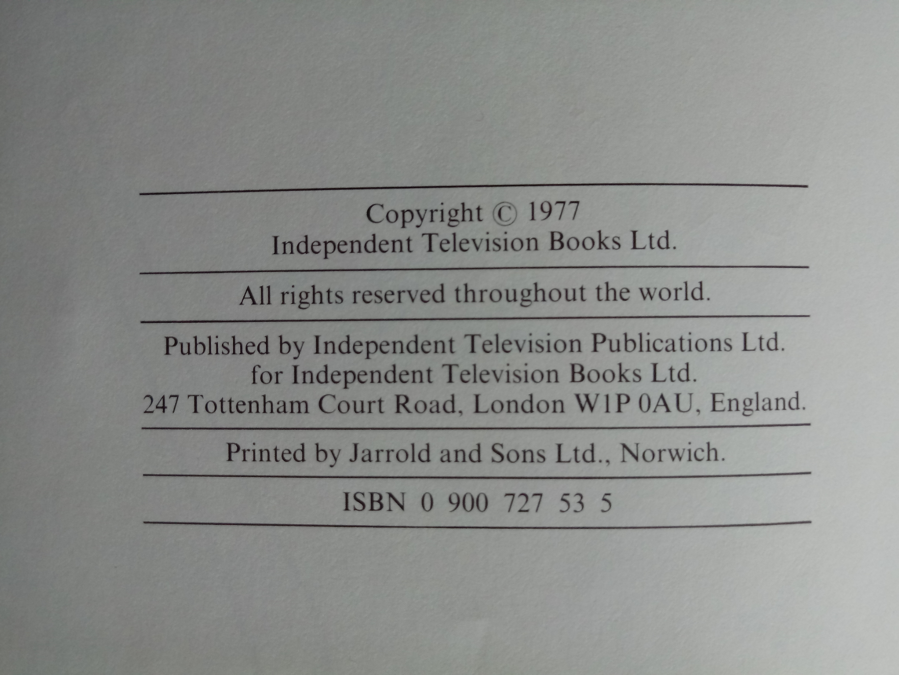 Look-In Television Annual hardback book 77 pages Published 1977 Independent Television - Image 3 of 3