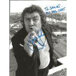 Rab C Nesbitt signed 8x6 black and white photo dedicated. Rab C. Nesbitt is a Scottish comedy series