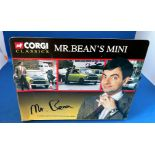 Vintage Toys. CORGI collection. A Die-cast metal and plastic MINI, from the film 'Mr Bean'. In