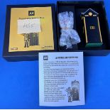 Vintage Toys. A Handmade by Gerry Ford AA Patrol and Sentry box from 1945-1967. in the original box.