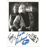 Right Said Fred signed 7x5 black and white photo. Right Said Fred are a London-based English band