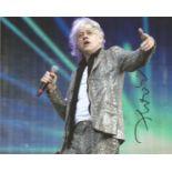 Bob Geldof signed 10x8 colour photo. Robert Frederick Zenon Geldof KBE ( born 5 October 1951), is an