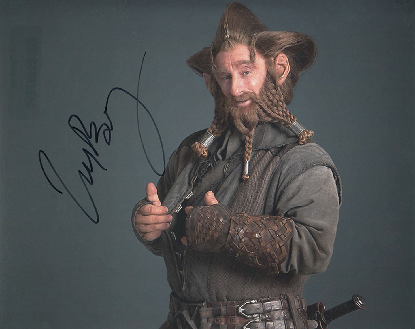 Blowout Sale! The Hobbit Jed Brophy hand signed 10x8 photo. This beautiful 10x8 hand signed photo